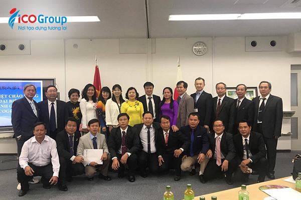 Chuyến thăm và làm việc của lãnh đạo ngành giáo dục Việt Nam cùng các thầy cô giáo ICO tại Nhật Bản năm 2017