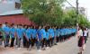 """Lễ """"Chào buổi sáng"""": Một nét văn hóa """"không trộn lẫn"""" của du học sinh ICO Bắc Giang"""